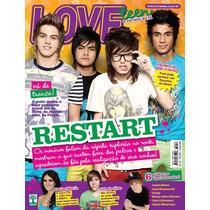 Revista Loveteen Restart C/ 6x Poster = Justin Bieber Icarly