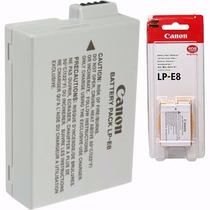 Bateria Canon Lp-e8 Original Lp E8 T4i T5i T6i Kiss X4 Ba04