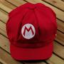 Boné Mario Bros Chapéu Cosplay Pronta Entrega