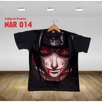 Camisa Camiseta Anime Itachi Uchiha Naruto