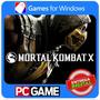 Mortal Kombat X Pc Steam Cd-key Envio Imediato