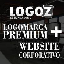 Logo Premium + Manual De Marca + Site Corporativo