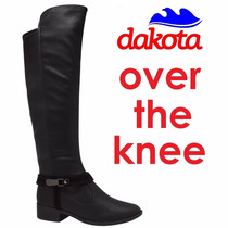 20%off Bota Over The Knee Dakota Acima Do Joelho 50cm B7733