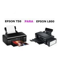 Impressora Epson T50 Para Epson L800