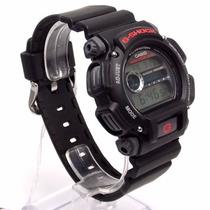 Dw-9052-1vdr Relógio De Pulso Casio Gshock Surf Preto 200m