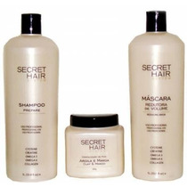 Kit Progressiva Secret Hair System - Frete Gratís