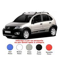 Adesivo Sport Citroen C3 Kit Faixa Lateral Tuning Acessórios