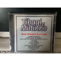 Tibagi E Miltinho, Cd Seus Grandes Sucessos, 1998 Novo