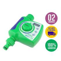 02 Temporizador De Irrigação - Timer Água - Com Frete Grátis