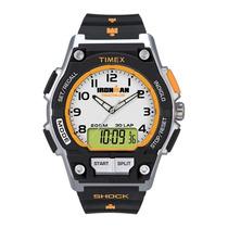 Relógio Timex Ironman 30 Laps Anadigi T5k200ww/tn Original