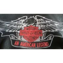 Jaqueta De Couro Harley Davidson Xl Semi-nova