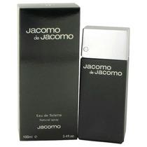 Perfume Francês Masculino Jacomo De Jacomo 100ml Edt - Novo