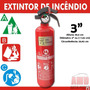 Extintor Incêncio Automotivo Carro Abc Inmetro 5 Anos 3 Mag