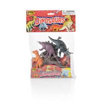 Dinossauro 15cm 6pcs Em Saquinho Multikids Mania Virtual