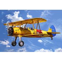 Modelo Plane - Revell 1:72 Stearman Kaydet Military Aircraft