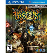 Dragons Crown Ps Vita Psvita Mais Barato Do Mercado Livre