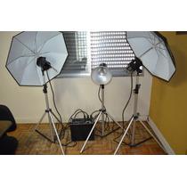 Kit Completo Studio Fotográfico Mako 2001 1400w
