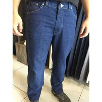 Calça Jeans Masculina Tradicional Tamanho Extra 52 - 56