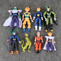 Kit 8 Bonecos Dragon Ball Articulados Goku E Outros - Oferta