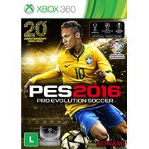 Jogo Pes 2016 - Xbox 360 Konami