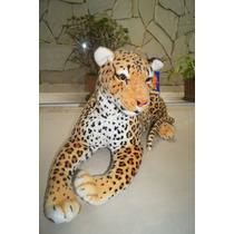 Kit C/5 =1 Chipanze 80cm + 1 Leão 70 + 1 Tigre1,08 + 2girafa