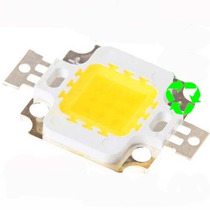 Super Led 10w Branco Frio - 7000k - 1000lm + Regulador