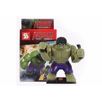 5 Bonecos Big Hulk,homem De Ferro,mercúrio,feiticeira,visão