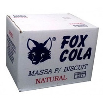 Massa De Biscuit Fox Natural Caixa 20kg