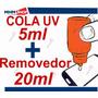 Kit Cola Uv + Removedor+ Adesivo 3m Celular Vidro Lcd Touch!