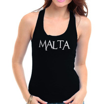 Regata Malta - Banda Camiseta Rock Visco Feminina