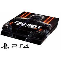 Capa Skin Adesivo P/ Playstation 4 - Ps4 Call Of Duty Black