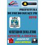 Apostila Digital Pref Foz Do Iguacu Pr Secretario Esc Junior