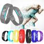 Relógio Led Digital Sport Bracelete Pulseira Silicone ($$)