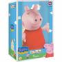 Peppa Pig Cabeça De Vinil Coleção Pim Pam Pum Estrela