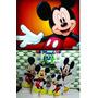 Kit Displays Mickey 8 Peças + Painel 2 X 1,40 Mts