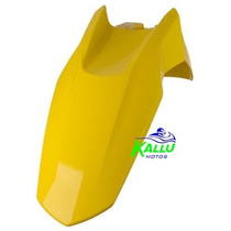 Paralama Dianteiro Nxr 150 Bros +09 Amarelo Kallu Motos