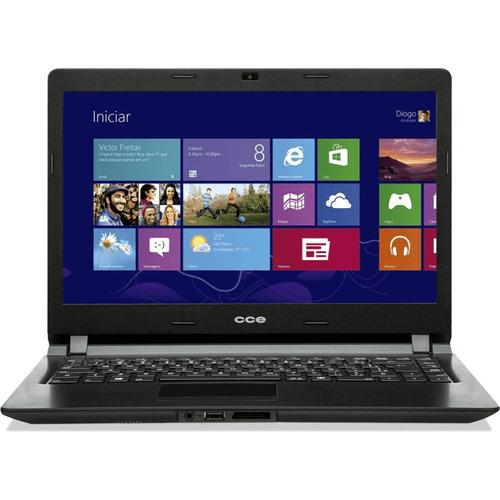 Notebook Cce Ultra Thin U25 Intel Celeron Hd 500gb Ram 2gb