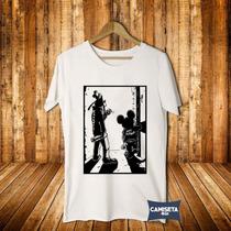 Camiseta Masculina Cartoons Vários Temas Punk Rock Sátira