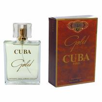 Perfume Cuba Gold 100ml Edp Cuba Paris Frete Gratis