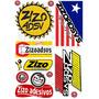 Adesivos Caminhão Qualificado Zizo Adsv Gbn Rota 262, Reggae