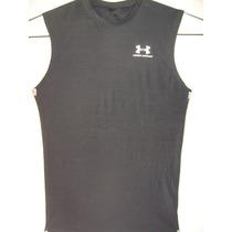 Camiseta Regata Under Armour Tamanho Xl Lycra Estica 20cm