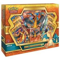 Box Charizard Ex Pokémon Booster Carta Gigante Original