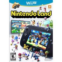 Jogo Nintendo Land Original Para Nintendo Wii U Novo