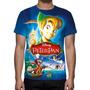 Camisa, Camiseta Disney Peter Pan - Estampa Total