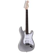 Guitarra 1 Humbucker 2 Single Coils G101 Prata - Giannini