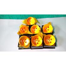 Esfera Dragão 1 À 7 Estrelas Dragon Ball Tamanho Real 4cm