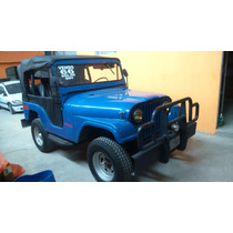 Jeep 66 Willys 6cc Gnv