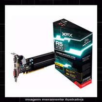 Placa De Vídeo Xfx Radeon R5 230 2gb Ddr3 64 Bits Pci-e
