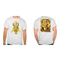 Camisa Cavaleiros Do Zodiaco Shaka Virgem Anime Manga Heroi