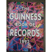 Livro The Guinness Book Of Records 1992